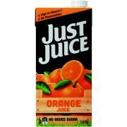 Just Juice Orange Juice 1 Litre Carton 12