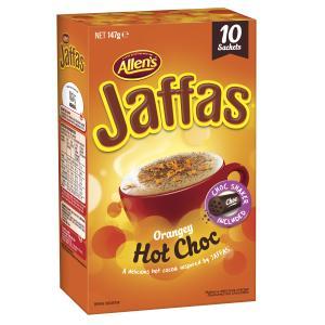 Allen's Jaffa Hot Chocolate Box 10