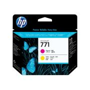 HP 771 Magenta & Yellow Printhead - CE018A