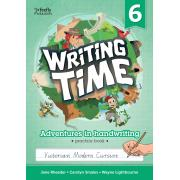 Writing Time 6 (Victorian Modern Cursive) Student Practice Book