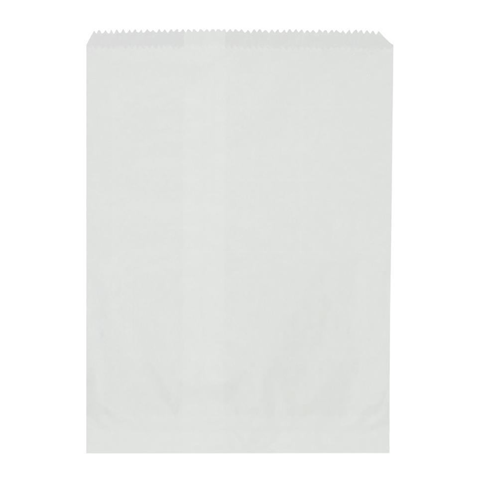 Castaway Paper Bag No. 1/4 Flat Confectionery 102X125mm White Carton 1000