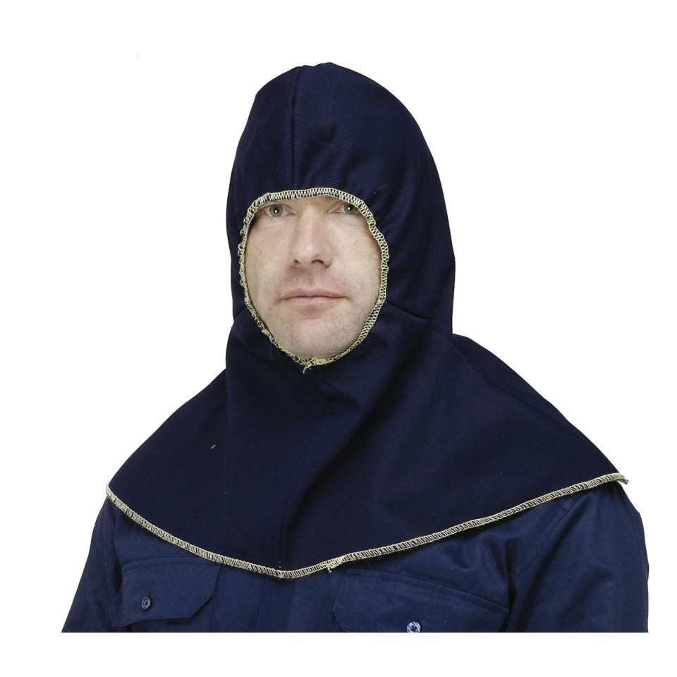Guardian Safety Pp640102 Navy Proban Hood With Elastic Face