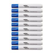 Winc Earth Whiteboard Marker Recycled Bullet Tip 1.5-3.0mm Blue Box 10