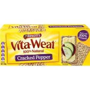 Arnotts Vita-Weat Cracked Pepper 250g