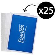 Bantex A3 Tough P/Pocket Portrait 120 Microns Packet 25