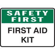 Brady 841546 Sign First Aid Kit Vinyl 180H X250W mm