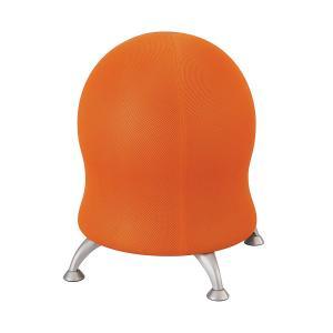 Safco Zenergy Ball Chair 584.2(h) x 571.5(dia)mm Fabric Orange