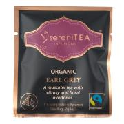 Serenitea Infusions Fairtrade Organic Earl Grey Enveloped Pyramid Tea Bags Pack 100
