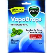 Vicks Vapodrops Original Menthol Pkt24