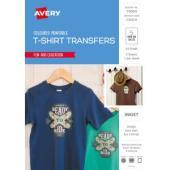 Avery Dark Coloured T-Shirt Inkjet Transfer (79009) A4 Pack 5