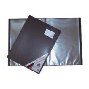 Colby Art Display Book 20 Pockets A3 Black Image