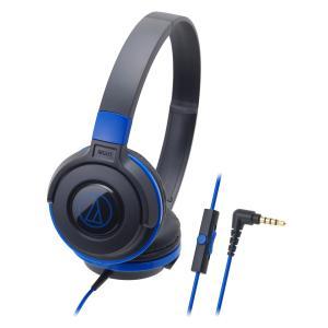 Audio-Technica S100iS S Series Street Headphones - Black/Blue