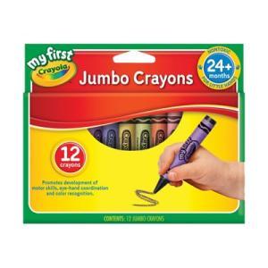 Crayola Jumbo Crayons Pkt 12