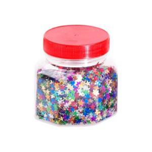 Jasart Glitter 250g Jar Red