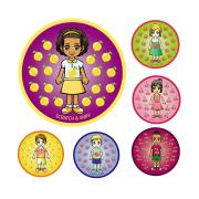 Avery Merit and Reward Scratch and Sniff Flavour Stickers 30 mm diameter Pack 72