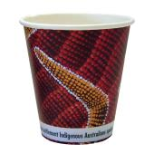 CCAB Indigenous Heavy Board Hot Cup 12Oz/400ml Indigenous Print Carton 1000
