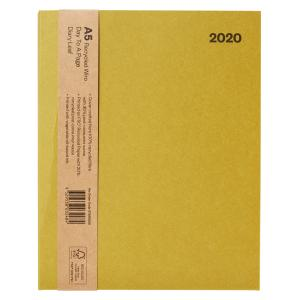 Winc 2020 Wiro Recycled Diary A5 Day to Page Straw