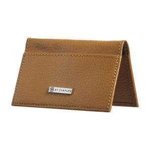 M by staples leather business card case 2 pocket camel staples now m by staples leather business card case 2 pocket camel colourmoves