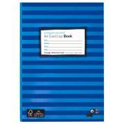 Yoobi Exercise Book A4 128 Page Blue Stripe