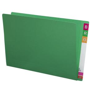 Avery Lateral Shelf File 367 x 242mm 35mm Expansion Foolscap Green