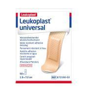 Leukoplast Plastic Adhesive Strips 1.9 x 7.2 cm Pack 50