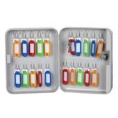 Esselte Key Cabinet No.1 20 Keys Grey