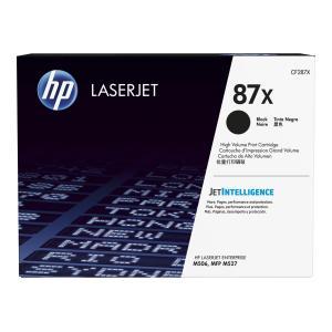 HP LaserJet 87X Black Toner Cartridge - CF287X