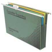 Crystalfile Suspension File Manilla Board Expandable 100% Recyclable GreenPack 10