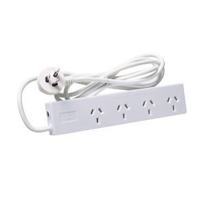 4 Outlet Protected Power Board with 1.8M Cord