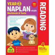 School Zone Yr 3 Naplan-style Reading Wb & Tests