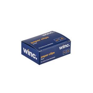 Winc Steel Paper Clips 28mm Box 100