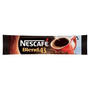 Nescafe Blend 43 Instant Coffee Sticks 1.7g Carton 280