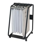 Hang-A-Plan A1 General Front Loader Trolley D061 990h X 550w X 730dmm Black