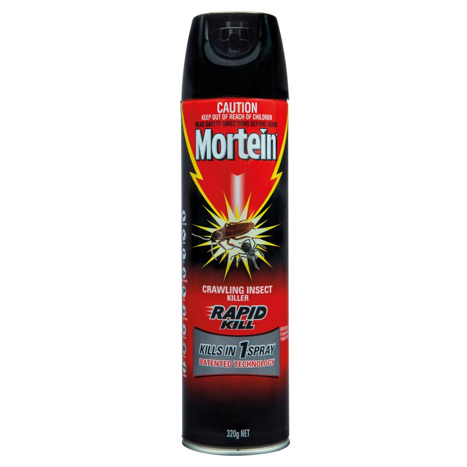 Mortein Crawling Insect Killer Rapid Kill 320g