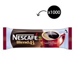 Nescafe Blend 43 Instant Coffee Sticks 1.7g Carton of 1000