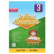 Grammar Conventions Book 3 3rd Ed Teachers 4 Teachers Harry O'Brien