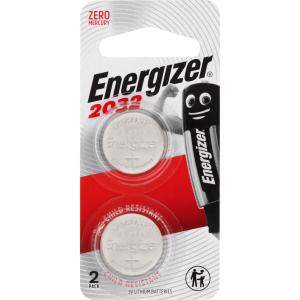 Energizer CR2032 3V Lithium Coin Button Battery Pack 2