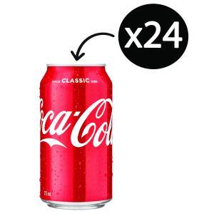 Coca-Cola 375ml Can Carton 24