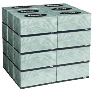 Kleenex 4715 Executive Tissues 2 Ply 200 Sheet Carton 24