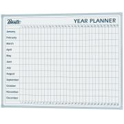 Penrite Aluminium Frame Year Planner 900 x 1200mm