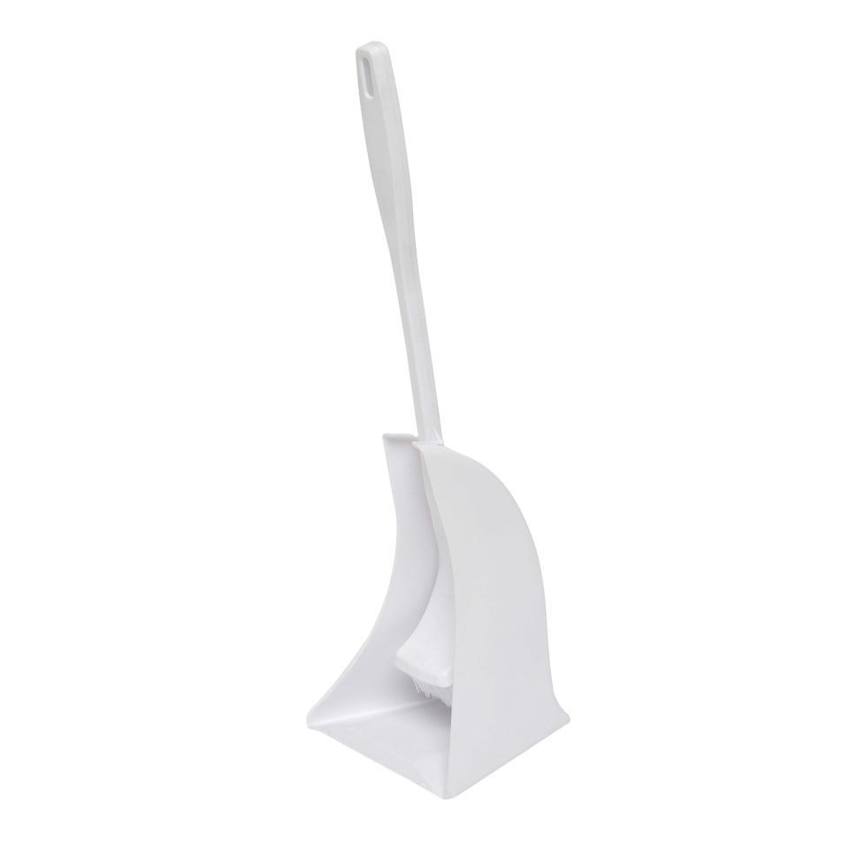 Compass Toilet Brush Plastic White