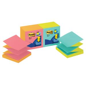 Post-It Notes Pop-Up Cape Town Collection 76 x 76mm Pack 12