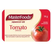 Masterfoods Tomato Sauce Portion Control 14g Carton 100