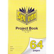 Spirax 143 A4 Project Book 64gsm 8mm Ruled