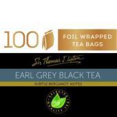 Sir Thomas Lipton Earl Grey Tea Box 100