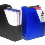 Marbig Magazine Holder Black Pack 2