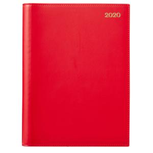 Winc 2020 Wiro Diary A4 Day to Page Red