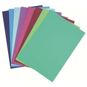 Cumberland Colourboard 200gsm A3 Assorted Cool Tones Pack 50