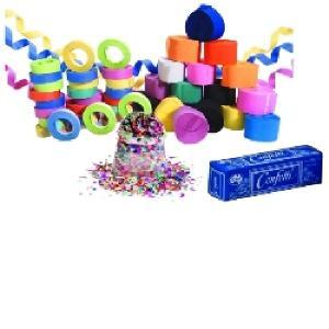 Alpen Confetti Dust Free 15gmassorted Colours Circles Box