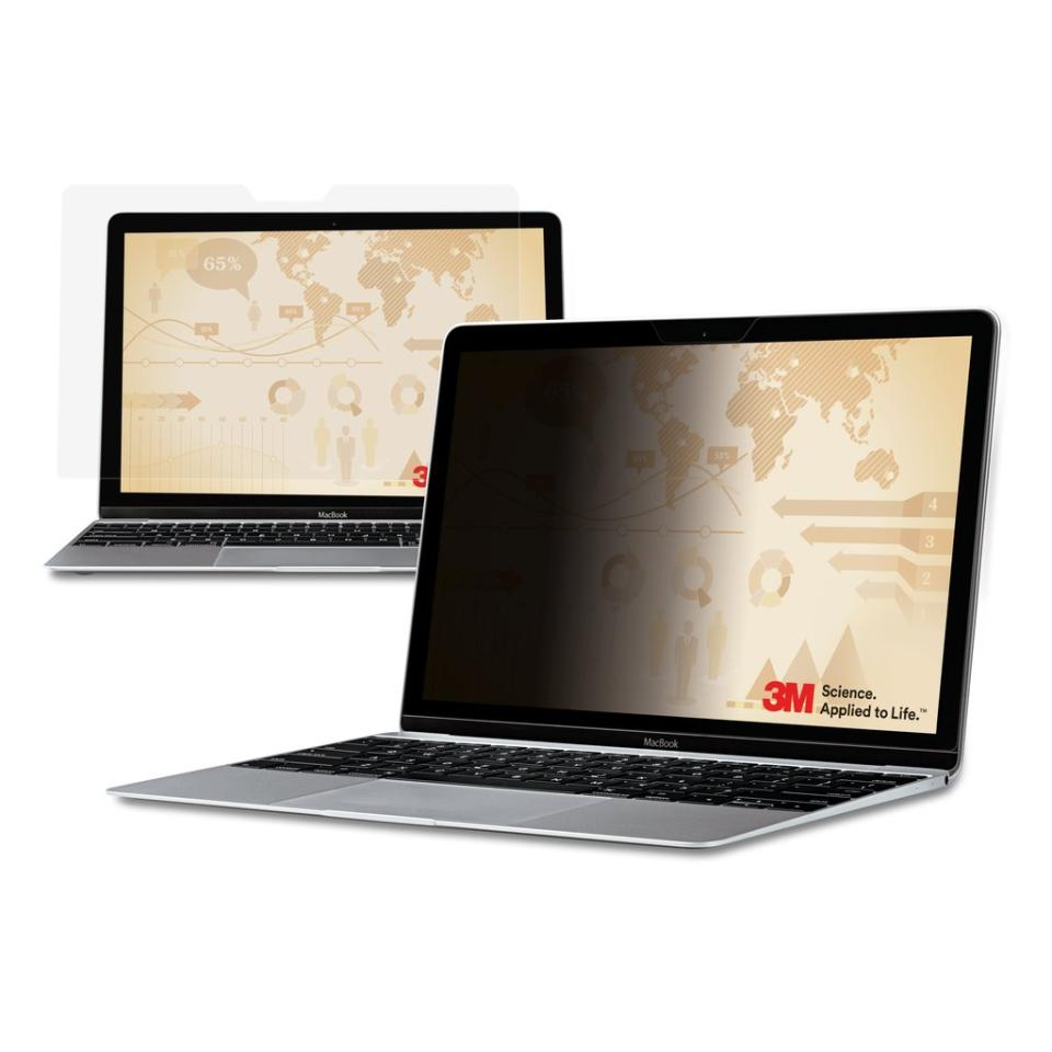 3M Privacy Filter for 12.1 Inch Widescreen Laptop Black